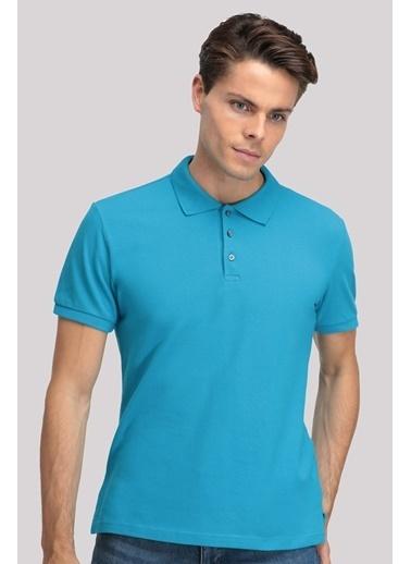 D'S Damat Regular Fit T-Shirt Turkuaz